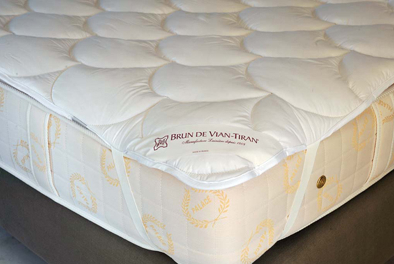 741 surmatelas laine merinos camargue 800 535 luxury bed. Black Bedroom Furniture Sets. Home Design Ideas
