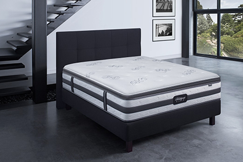 matelas golden hill by beautyrest black chez luxury bed luxury bed. Black Bedroom Furniture Sets. Home Design Ideas