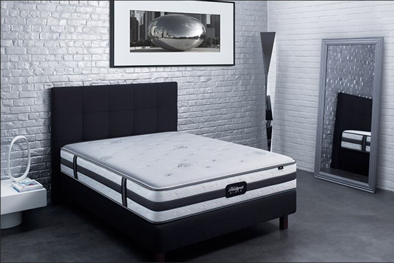 matelas aspen by beautyrest black chez luxury bed luxury bed. Black Bedroom Furniture Sets. Home Design Ideas