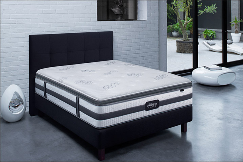 Luxury bed beautyrest black brooklyn 800 535 - Matelas pirelli bedding ...