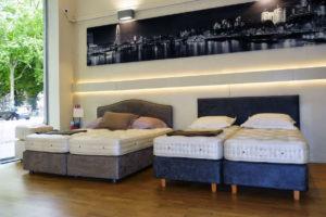 Intérieur de la boutique Luxury Bed
