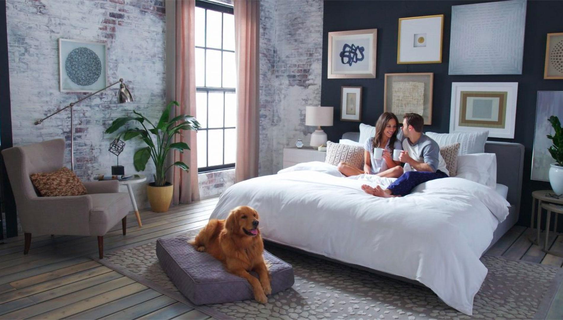 Confort et bien-être dans la chambre